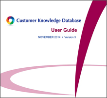 CCME – Customer Knowledge Database Guides